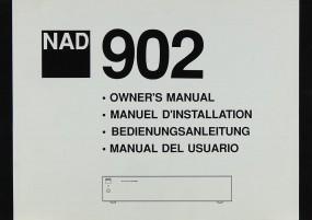 NAD 902 Bedienungsanleitung