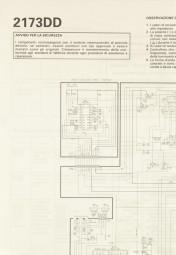Toshiba 2173 DD Schaltplan / Serviceunterlagen
