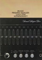 ADC SS-1 / SS-2 Prospekt / Katalog