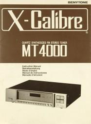 X-Calibre MT 4000 Bedienungsanleitung