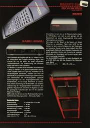 Phonosophie Marantz-Serie Prospekt / Katalog