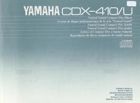 Yamaha CDX-410/U Bedienungsanleitung