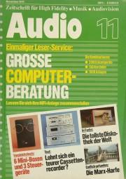 Audio 11/1978 Zeitschrift