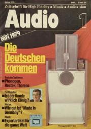 Audio 1/1979 Zeitschrift