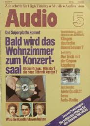 Audio 5/1979 Zeitschrift