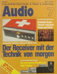 Audio 7/1980 Zeitschrift