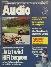 Audio 8/1980 Zeitschrift