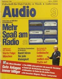 Audio 9/1980 Zeitschrift