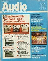 Audio 8/1982 Zeitschrift