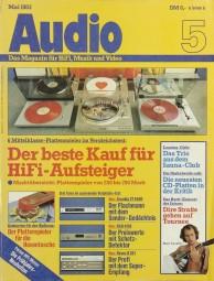Audio 5/1983 Zeitschrift
