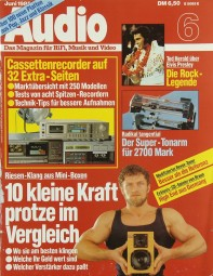 Audio 6/1985 Zeitschrift