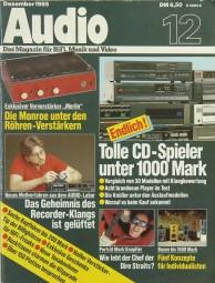 Audio 12/1985 Zeitschrift