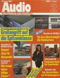Audio 2/1987 Zeitschrift