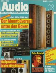 Audio 3/1987 Zeitschrift