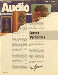 Audio 1/1988 Zeitschrift