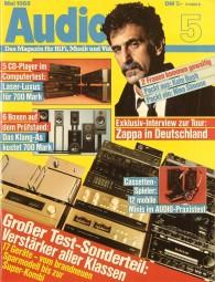 Audio 5/1988 Zeitschrift