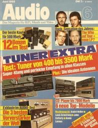 Audio 6/1988 Zeitschrift