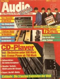 Audio 5/1989 Zeitschrift