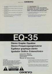 Onkyo EQ-35 Bedienungsanleitung