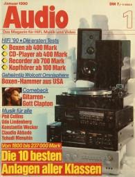 Audio 1/1990 Zeitschrift