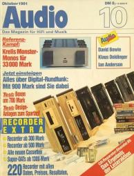 Audio 10/1991 Zeitschrift