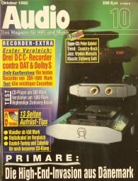 Audio 10/1992 Zeitschrift