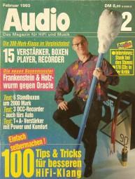 Audio 2/1993 Zeitschrift