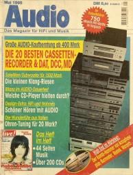 Audio 5/1995 Zeitschrift