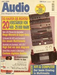 Audio 7/1995 Zeitschrift