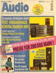 Audio 8/1995 Zeitschrift