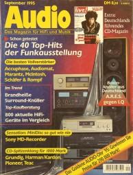 Audio 9/1995 Zeitschrift