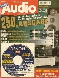 Audio 10/1998 Zeitschrift