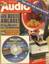 Audio 1/1999 Zeitschrift