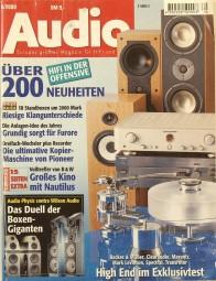 Audio 6/2000 Zeitschrift