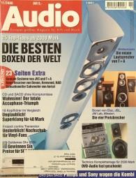 Audio 11/2000 Zeitschrift