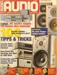 Audio 8/2001 Zeitschrift