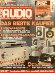 Audio 12/2003 Zeitschrift