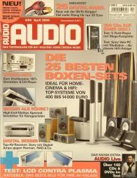 Audio 4/2004 Zeitschrift