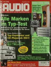 Audio 6/2006 Zeitschrift