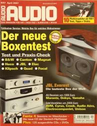 Audio 4/2007 Zeitschrift