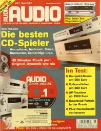 Audio 5/2007 Zeitschrift