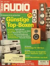 Audio 6/2007 Zeitschrift