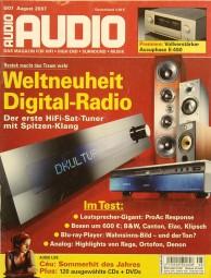Audio 8/2007 Zeitschrift