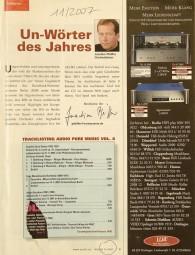Audio 11/2007 Zeitschrift