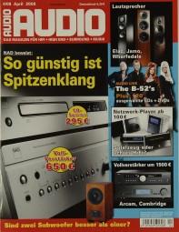 Audio 4/2008 Zeitschrift