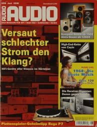 Audio 6/2008 Zeitschrift