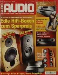 Audio 9/2008 Zeitschrift