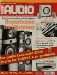 Audio 12/2008 Zeitschrift
