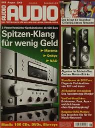 Audio 8/2009 Zeitschrift