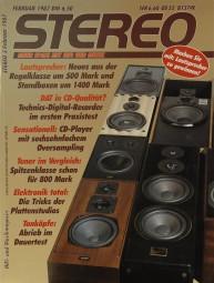 Stereo 2/1987 Zeitschrift